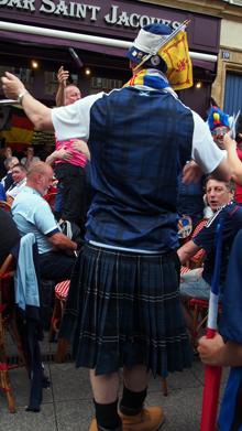 après midi écossaise dans la bonne ville de Metz