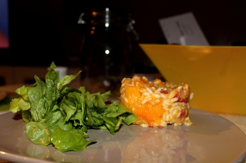 Risotto butternut chorizo