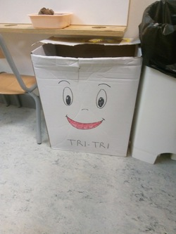 Dans la classe, on trie
