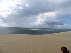 La dune du Pyla et son lac