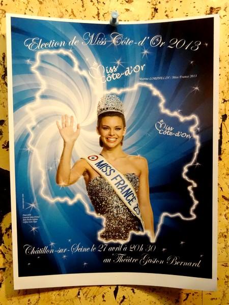 Dernière ligne droite avant l'élection de Miss Côte d'Or à Châtillon sur Seine...
