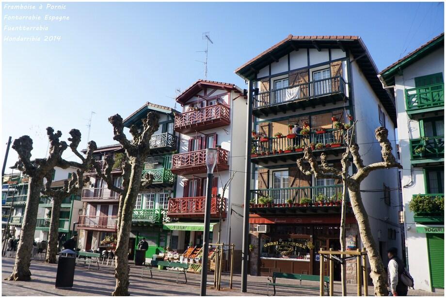 Fontarrabie - Hondarribia  côte basque espagnole