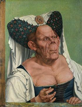 Femme ? - La Duchesse laide, Quentin Metsys, 1513