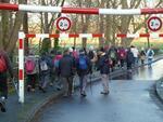 La randonnée du 11 janvier 2014 à Fleury-Caen