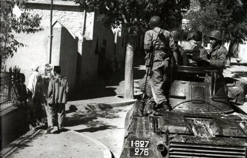 Arris, Novembre 1954