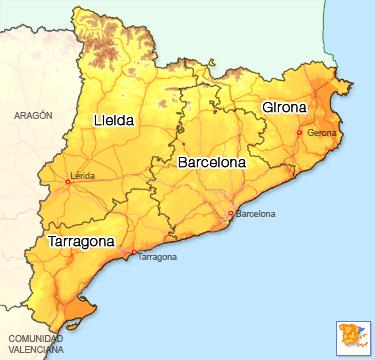 La voie défunte de la Catalogne (Espagne).