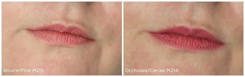 Crayons à lèvres :pastello neve cosmetics - amore/pink - orchidea/cerise