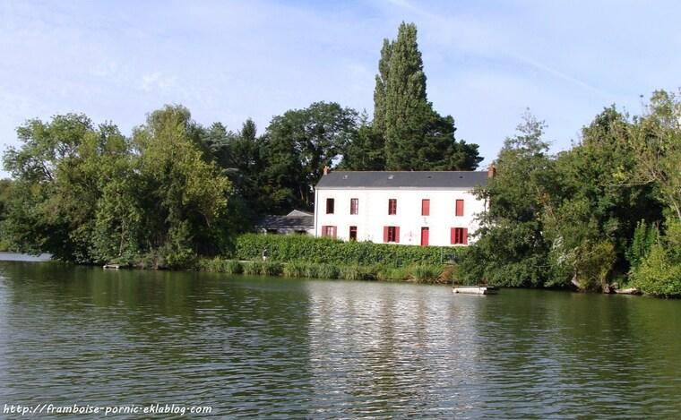 Balade sur l'Erdre à Nantes