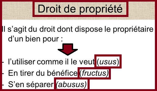 Usus, fructus, abusus : les éléments constitutifs de la propriété