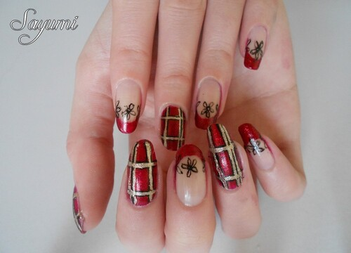 Nail Art - Niigaki Risa inspired nails