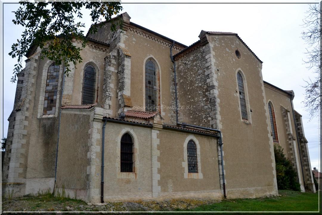 Eglise Ste-Quitterie Castelnau Barbarens - Gers (3)