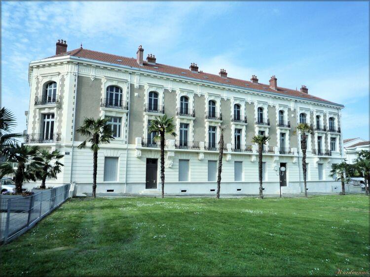 Photo de l'immeuble Biraben de Dax dans Les Landes
