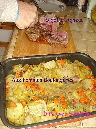 Gigot d'agneau aux pommes boulangères 3