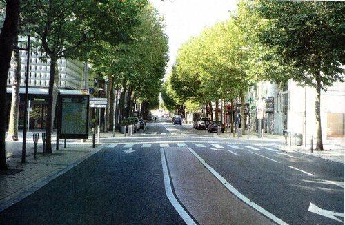 Le boulevard La Fayette