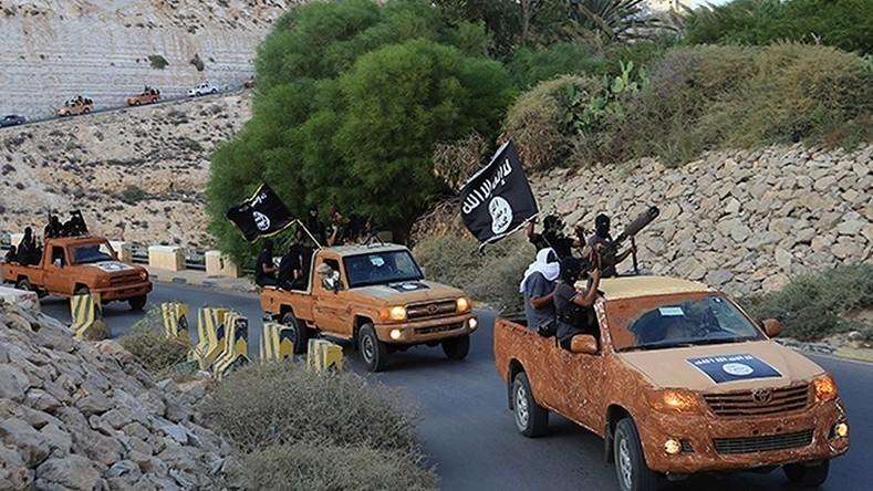 Daesh en Syrie.