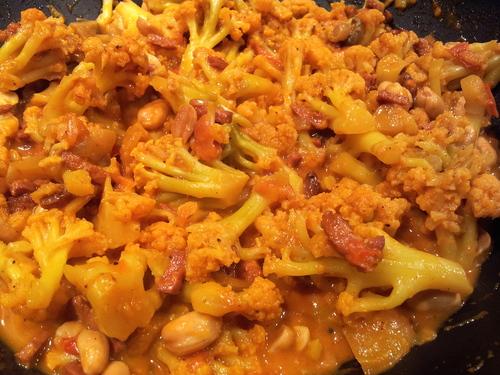 ° Curry de chou-fleur IG très bas