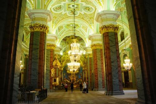 La forteresse Pierre et Paul et le mausolée des Romanov (photos)