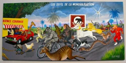 Art Paris Afrique Cheri Chérin mondialisation