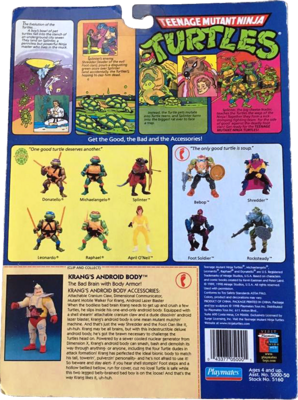 ENCEPHALE DE LA DIMENSION X (Playmates 1989-1994) Partie 2