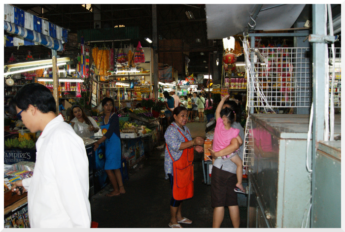 Photos de Thaïlande_18. Marché de Jomtien