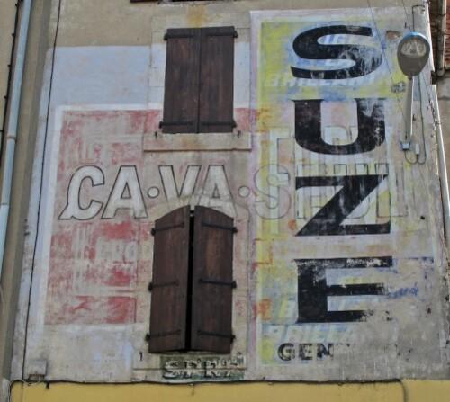 Coursan mur peint Suze Forvil Ca va seul 2