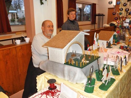 Le Marché de Noël 2011 de Sainte Colombe sur Seine...