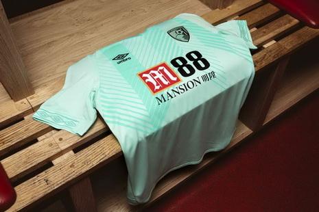 Nouveau maillot Bournemouth 2019 Troisieme