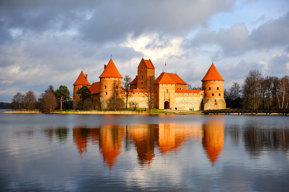 Photo duJour Château de Trakai à Trakai, Lithuanie