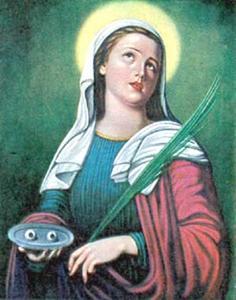 Sainte Lucie de Syracuse, Vierge et martyre en Sicile (+ v. 305)
