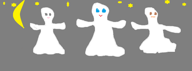 Trois petits fantômes