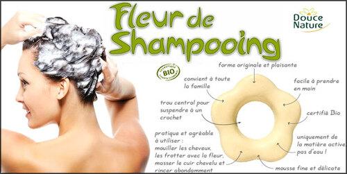 Les Fleurs de shampooing solide Douce Nature : j'ai testé !
