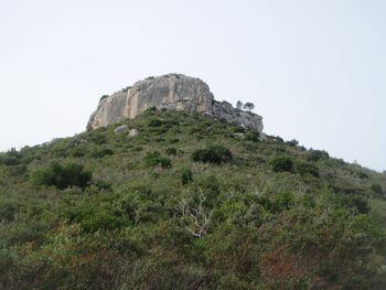 La Roche Redonne, vue d'en-bas