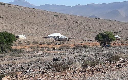 Une tente nomade