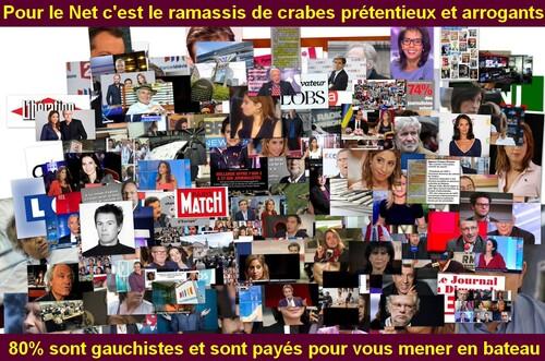 Je ne crois plus aux médias dans cette France corrompue.