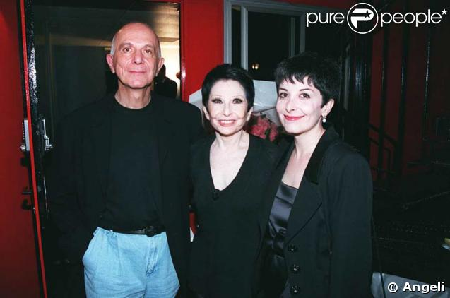 Zizi Jeanmaire et Roland Petit avec leur fille Valentine