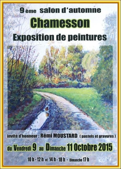 Salon d'automne à Chamesson