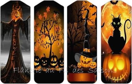 Halloween ! cartonnettes MP