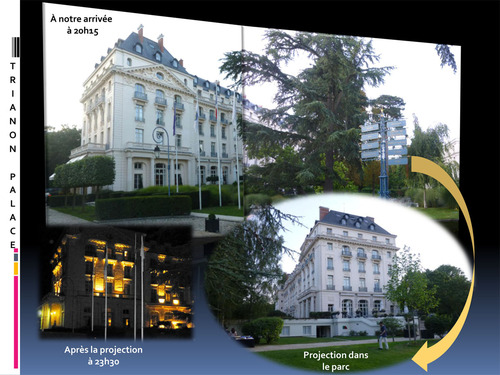Les Yvelines font leur cinéma : Marie-Antoinette au Trianon Palace