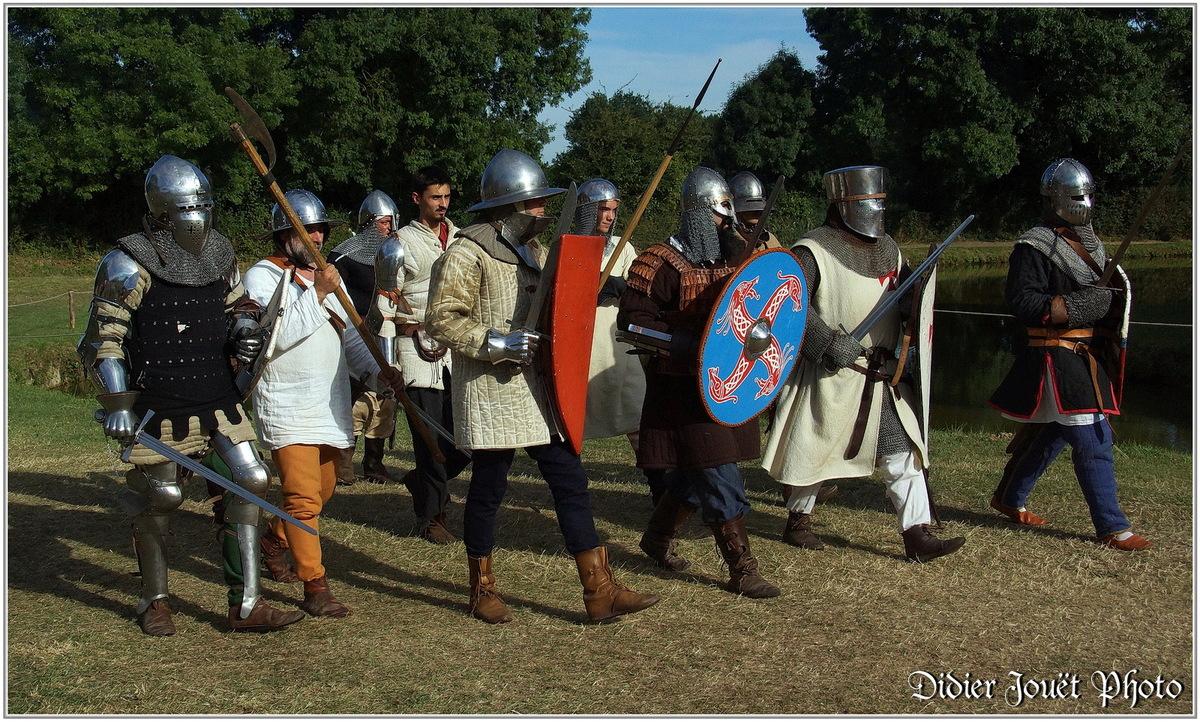 Médiévales de Commequiers 2015 (4) - Archers et Soldats