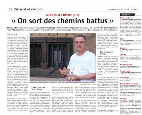 """Métier de l'Ombre 6/8 : """"On sort des chemins battus ."""" (Clémence Lesacq)"""