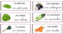 vocabulaire - les légumes