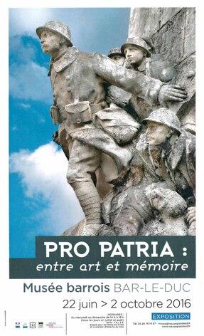 Pro Patria : entre art et mémoire
