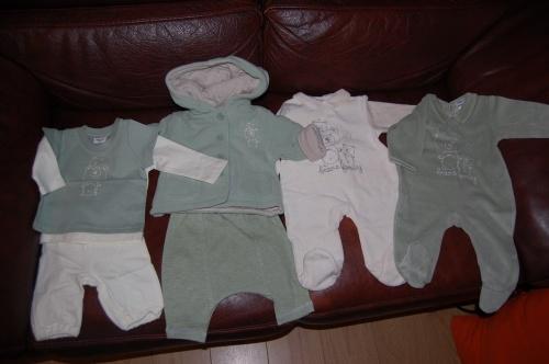 Vêtements du tétard