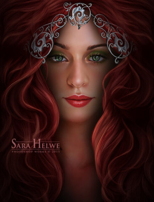 Sara Helwe, artiste