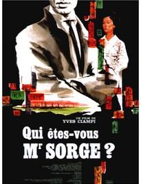 QUI ÊTES-VOUS MONSIEUR SORGE? BOX OFFICE FRANCE 1961