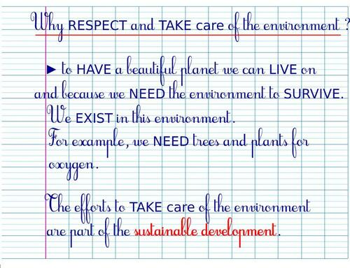 CE2SC - TAKE care of the Environment ♥