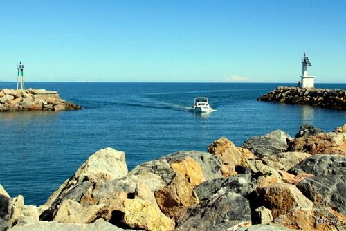 Entrée du port Barcarès