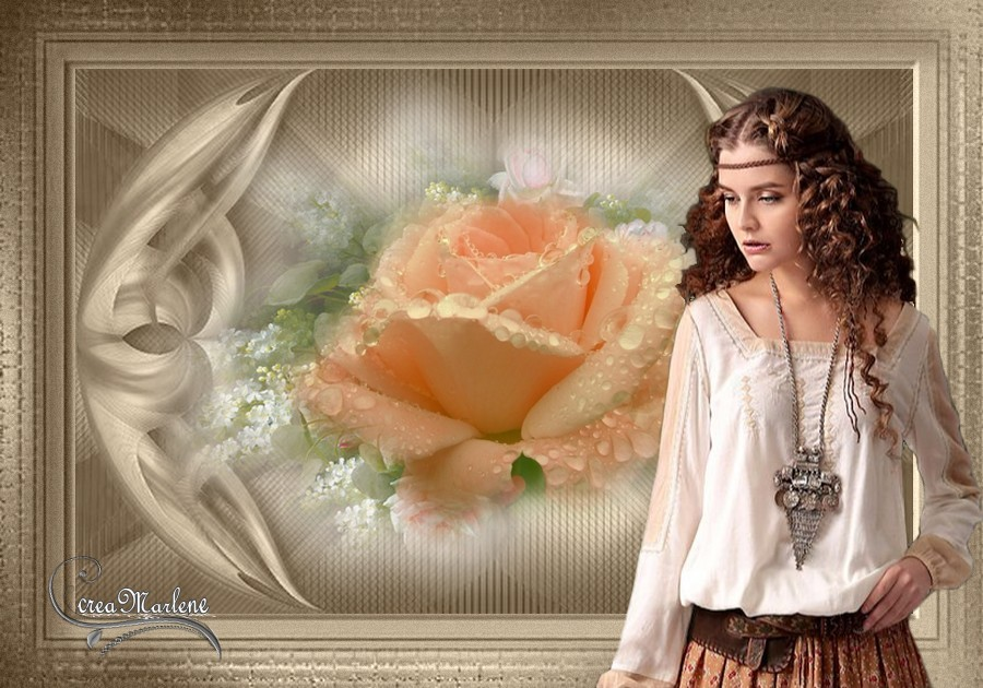Perles de rose
