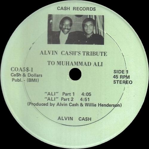 1983 : Maxi Single 12 Inch Cash Records COA5$-1 [ US ]