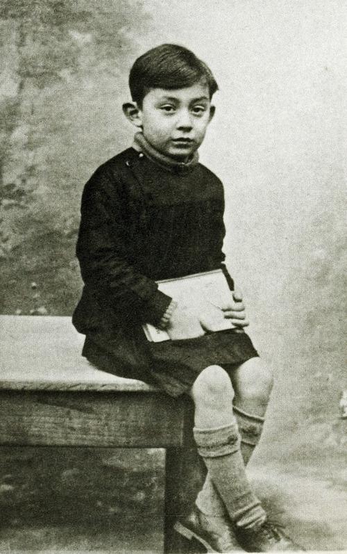 Lucien Ginsburg (Serge Gainsbourg) année 1934